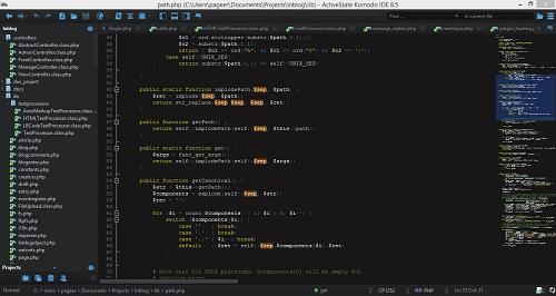 My Komodo IDE setup
